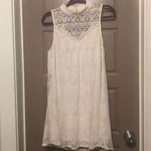Entourage Boutique off white lace dress
